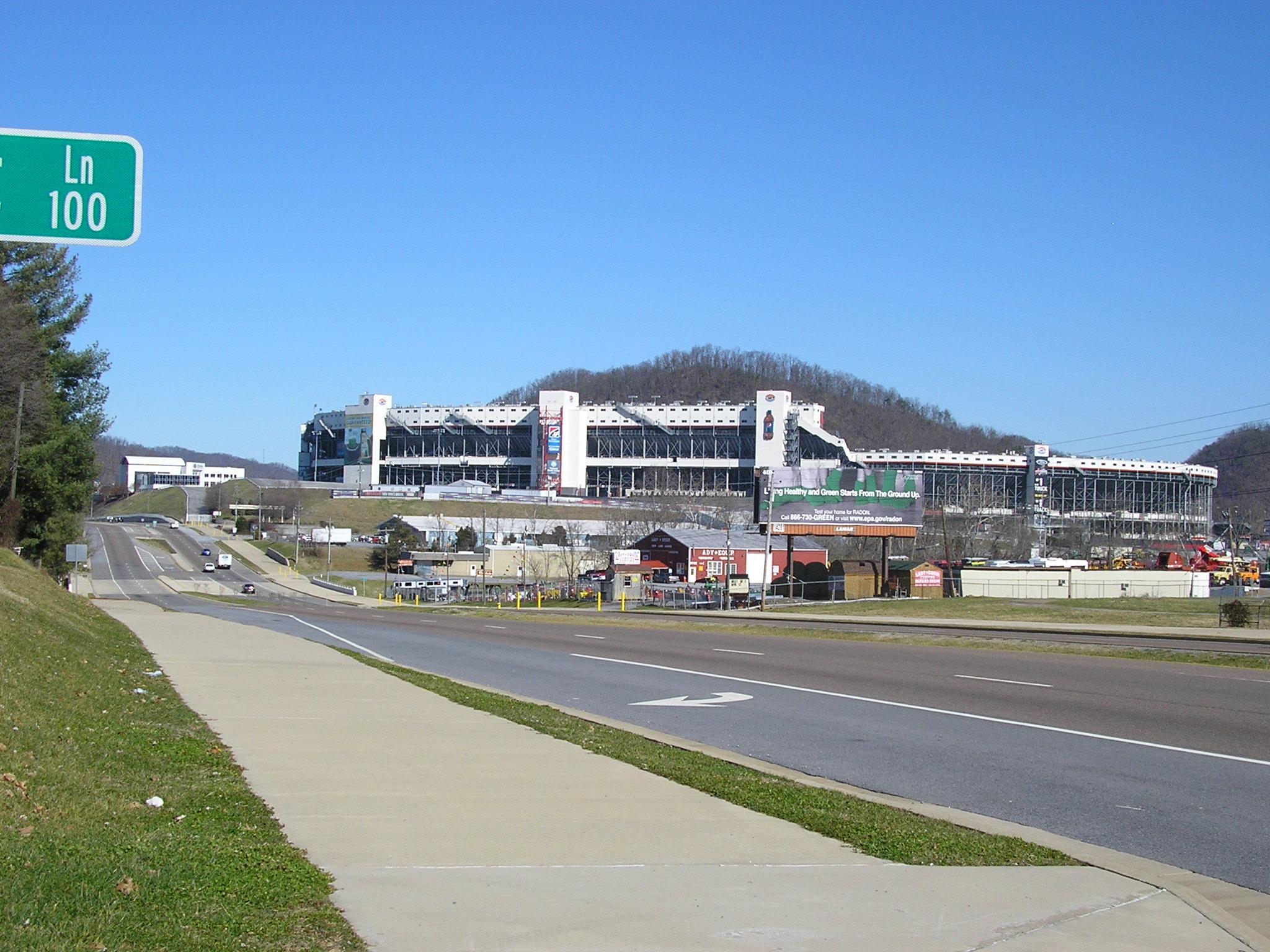 Bristol Motor Speedway No Mn Speedway Park
